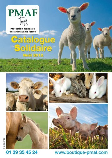 Catalogue Solidaire - Boutique Solidaire