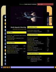 Xindi-aquatic warship - CODA Star Trek RPG Support