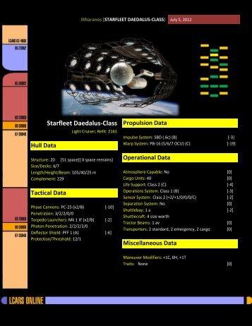 starfleet daedalus-class
