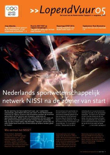 Nederlands sportwetenschappelijk netwerk NISSI na de ... - NOC*NSF