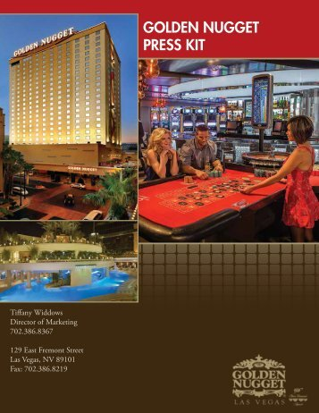 Golden Nugget Press Kit (Updated January 2012)