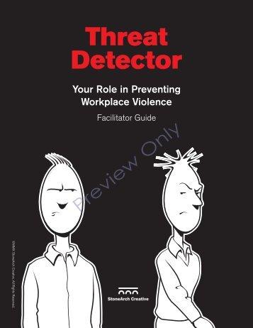 Threat Detector - Diversity Resources