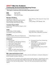 Community Environmental Working Group