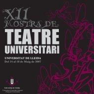 Programa - Xarxa Vives d'Universitats