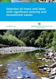 Selection of Rivers and Lakes with Significant Amenity - Sport and ...