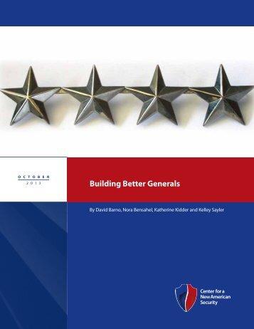 CNAS_BuildingBetterGenerals_0