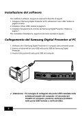 Samsung Digital Presenter Manuale d'uso del software - Medium - Page 6