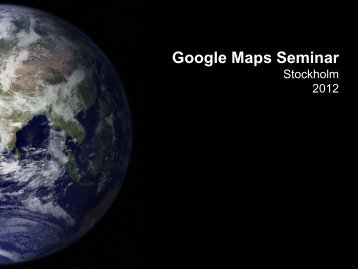 Google Maps for Business Presentation- Michael Gram, Folia