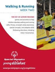 Walking & Running - Special Olympics