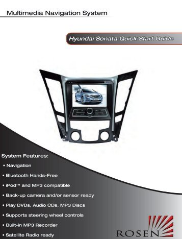 Multimedia Navigation System - Rosen Electronics