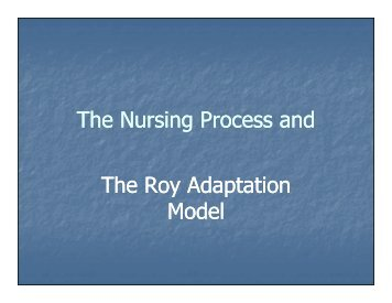nursing process and its clinical application Its role in the nursing process, and its application to  its role in the nursing process, and its application to clinical practice nursing diagnoses.