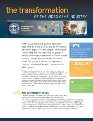 The Transformation of the Video Game Industry