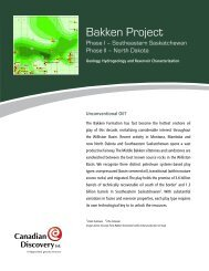 Bakken Project Brochure - Canadian Discovery Ltd.