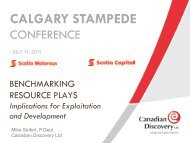 CALGARY STAMPEDE - Canadian Discovery Ltd.