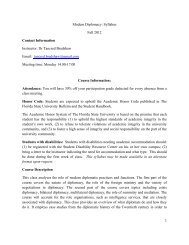 Modern Diplomacy 2012 syllabus - Foundation for International ...