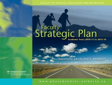 Download a copy of the plan (PDF format) - Faculty of Physical ...