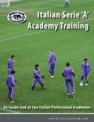 Italian Serie 'A' Academy Training - Mount Laurel United Soccer ...