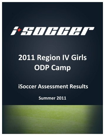 2011 Region IV Girls Report by iSoccer - Utah Youth Soccer ...