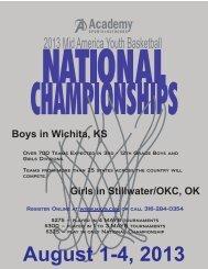 August 1-4, 2013 - MAYB