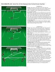 Goalkeeping - Shot Stopping - Canton Soccer Club