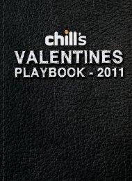 valentines playlist_PR.indd - Chill Magazine