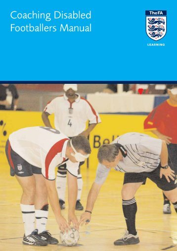 FA Coaching Disabled Footballers Manual