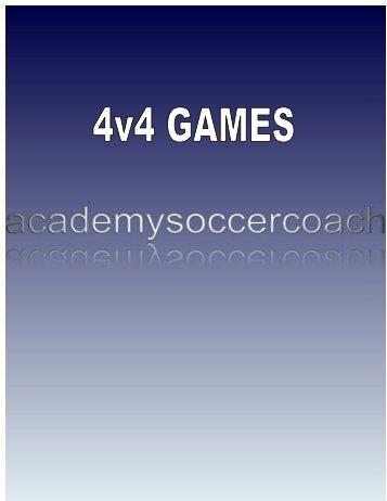 4 v 4 Games - Utah Youth Soccer Association