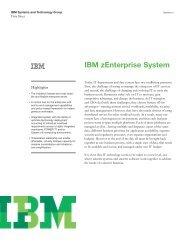 IBM zenterprise System