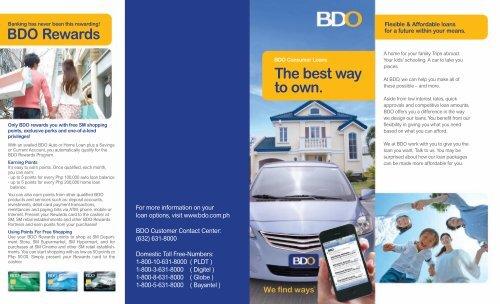 BDO Omnibus Loans
