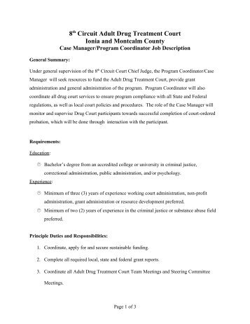 Job Description Mhsa Stipend Program Coordinator  Capic