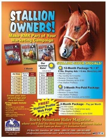 2011 Stallion Flyer email.pdf - Rocky Mountain Rider Magazine
