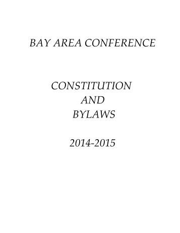 constitution and bylaws template - bylaws and constitution pensacola bay baptist association