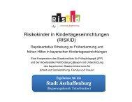 RISKID Stadt Aschaffenburg.pptx - Arbeitsstelle Frühförderung Bayern
