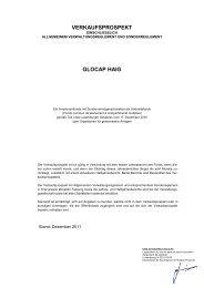 Verkaufsprospekt - Hauck & Aufhäuser Investment Gesellschaft SA