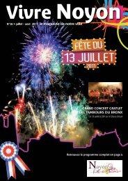 VN juillet aout 2011 impression:Maquette recherche - Ville de Noyon