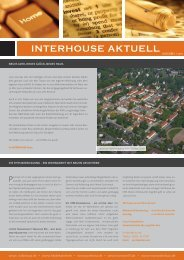 INTERHOUSE AKTUELL