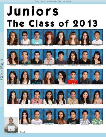 The Class of 2013 - Glendale High School
