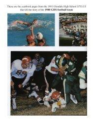 1980 team - Glendale High School