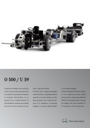 O 500 U 59 CA Euro III - Mercedes Benz