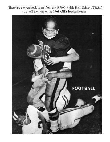 1969 team - Glendale High School