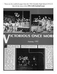 1991 team - Glendale High School
