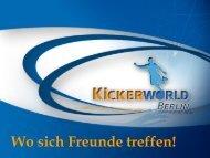 Unsere Angebote - KiCKERWorld Berlin