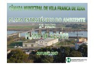 Plano de Acções (Outubro 2007) - Câmara Municipal de Vila Franca ...