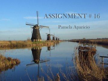 ASSIGNMENT # 16