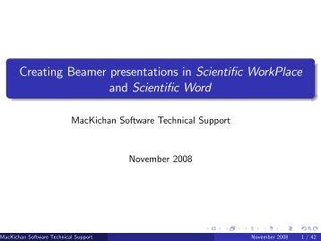 simpson's in latex beamer presentations, Presentation templates