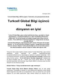Turkcell Global Bilgi üçüncü kez dünyanın en iyisi - Mobilsiad, Mobil ...