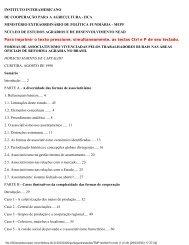 instituto interamericano de cooperação para a ... - Livros Grátis