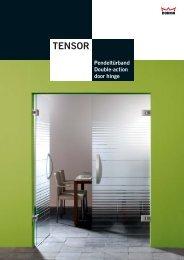 Prospekt Dorma Tensor - Ayinger Glaserei