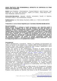 ADHD TRATTATO CON PICNOGENOLO ... - MEDNAT.org