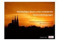 Nachhaltiges Bauen - GAG Immobilien AG